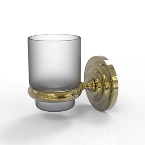 Prestige Que New Unlacquered Brass Three-Inch Wall Mounted Votive Candle Holder