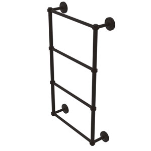 Prestige Regal Oil Rubbed Bronze 36-Inch Four Tier Ladder Towel Bar with Dotted Detail
