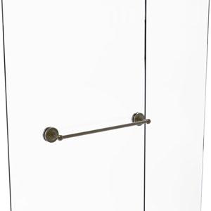 Prestige Regal Antique Brass 24-Inch Shower Door Towel Bar