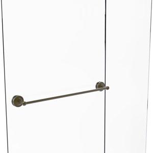 Prestige Regal Antique Brass 30-Inch Shower Door Towel Bar