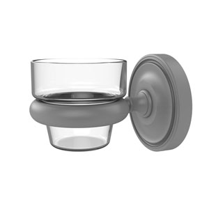 Prestige Regal Matte Gray Three-Inch Wall Mounted Votive Candle Holder