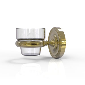 Prestige Regal Unlacquered Brass Three-Inch Wall Mounted Votive Candle Holder