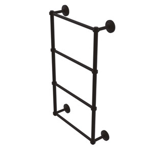Que New Oil Rubbed Bronze 30-Inch Four-Tier Ladder Towel Bar