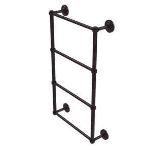 Que New Antique Bronze 36-Inch Four-Tier Ladder Towel Bar