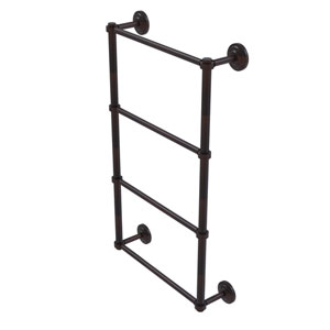 Que New Venetian Bronze 36-Inch Four-Tier Ladder Towel Bar
