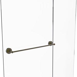 Que New Antique Brass 30-Inch Shower Door Towel Bar