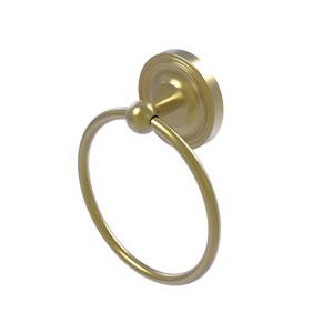 Regal Satin Brass Six-Inch Towel Ring