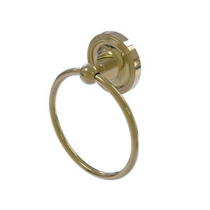 Regal Unlacquered Brass Six-Inch Towel Ring