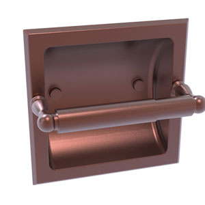 Regal Antique Copper Six-Inch Recessed Toilet Tissue Holder