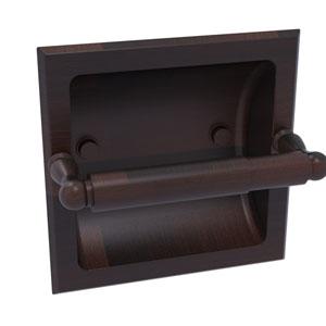 Regal Venetian Bronze Six-Inch Recessed Toilet Tissue Holder