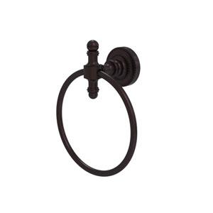 Retro Dot Antique Bronze Six-Inch Towel Ring