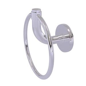 Remi Polished Chrome Six-Inch Towel Ring