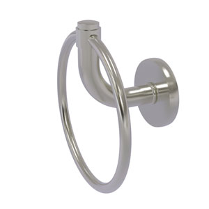 Remi Satin Nickel Six-Inch Towel Ring