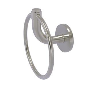 Remi Satin Nickel Six-Inch Towel Ring