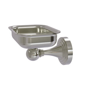 Sag Harbor Satin Nickel Four-Inch Wall Mounted Soap Dish