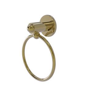 Soho Unlacquered Brass Three-Inch Towel Ring