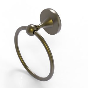 Shadwell Antique Brass Six-Inch Towel Ring