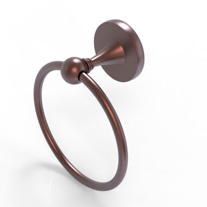 Shadwell Antique Copper Six-Inch Towel Ring