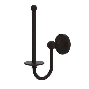 Shadwell Oil Rubbed Bronze Two-Inch Upright Toilet Tissue Holder
