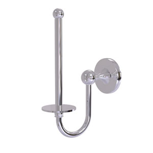 Shadwell Polished Chrome Two-Inch Upright Toilet Tissue Holder