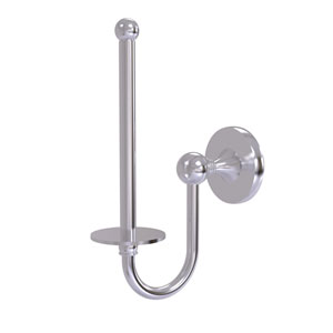 Shadwell Satin Chrome Two-Inch Upright Toilet Tissue Holder