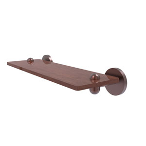 Tango Antique Copper 16-Inch Solid IPE Ironwood Shelf