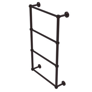 Waverly Place Antique Bronze 30-Inch Four-Tier Ladder Towel Bar