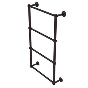 Waverly Place Antique Bronze 30-Inch Four-Tier Ladder Towel Bar