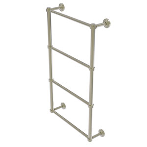 Waverly Place Polished Nickel 30-Inch Four-Tier Ladder Towel Bar