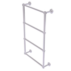 Waverly Place Polished Chrome 36-Inch Four-Tier Ladder Towel Bar