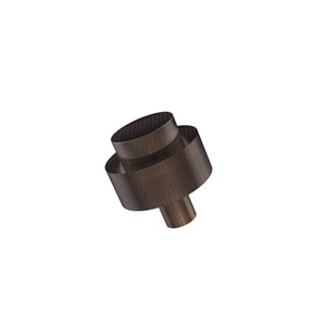 Cabinet Hardware Venetian Bronze 1-1/2 Inch Cabinet Knob