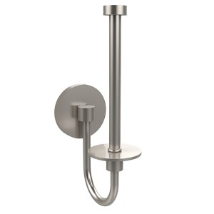 Skyline Satin Nickel Upright Toilet Paper Holder