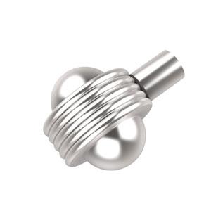1-1/2 Inch Cabinet Knob, Satin Chrome