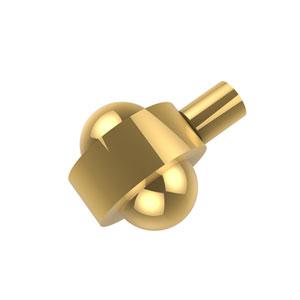 Cabinet Hardware Polished Brass Cabinet Knob 1-1/2 Inch