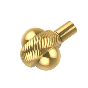 1-1/2 Inch Cabinet Knob, Polished Brass