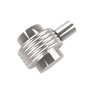 1-1/2 Inch Cabinet Knob, Polished Chrome