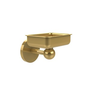 Skyline Polished Brass Wall-Mounted Soap Dish