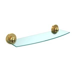 Skyline Polished Brass 18-Inch Single Shelf