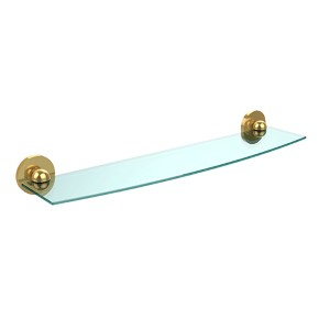 Skyline Polished Brass 24-Inch Single Shelf