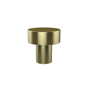 Style 107 Satin Brass Designer Cabinet Knob