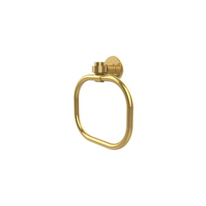 Continental Polished Brass Towel Ring