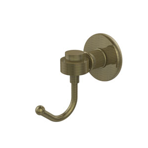 Continental Collection Robe Hook, Antique Brass