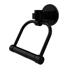 Continental Collection 2 Post Toilet Tissue Holder, Matte Black