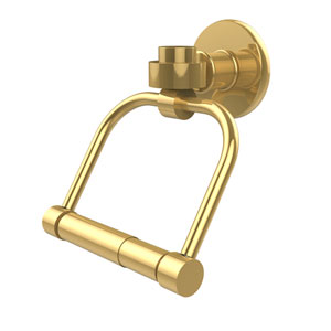 Continental Collection 2 Post Toilet Tissue Holder, Polished Brass