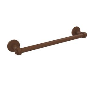 Continental Collection 24 Inch Towel Bar, Antique Bronze
