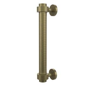Antique Brass 1 Inch Door Pull 8 Inch Center to Center