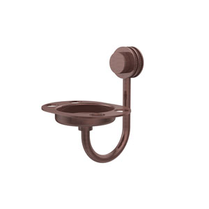 Venus Collection Wall Mounted Soap Dish with Dotted Accents, Antique Copper