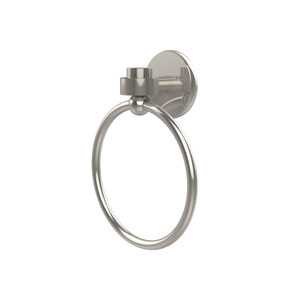 Satellite Orbit One Polished Nickel Towel Ring