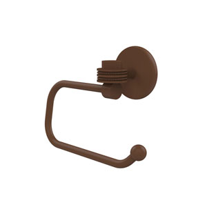 Satellite Orbit One Collection Euro Style Toilet Tissue Holder with Dotted Accents, Antique Bronze