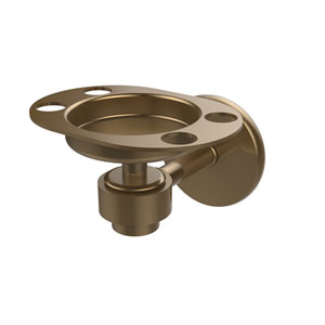 Satellite Orbit One Brushed Bronze Tumbler/Toothbrush Holder